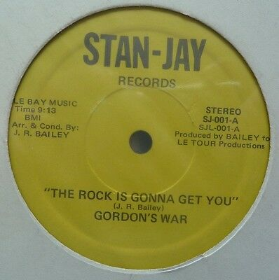 "Gordon's War - The Rock Is Gonna Get You - 12"" Vinyl"
