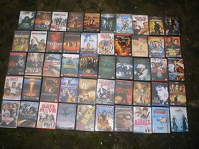 Collection Of 50 Assorted Dvd's (V.g.c)