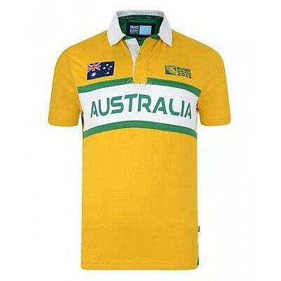 Rugby World Cup 2015 - Australia supporter rugby jersey Large - Official Product