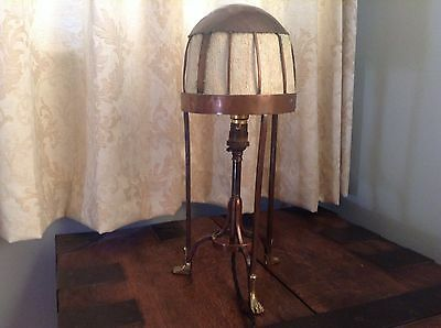 Rare arts and crafts table lamp