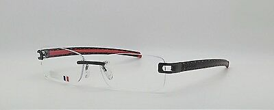 Tag Heuer L-Type TH0153 001 Rimless Designer Glasses Frames Mens 58-17-140
