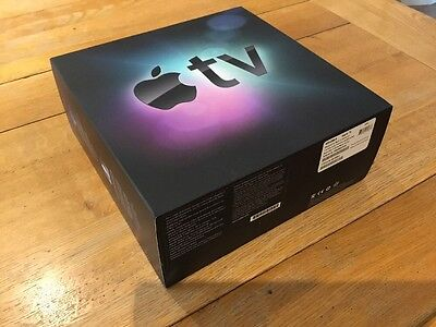 APPLE TV 1st GEN 160GB FULLY WORKING WITH REMOTE CONTROL FIRST GENERATION