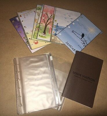 Louis Vuitton Agenda PM Inserts - Address Book, Dividers, and Card Holders