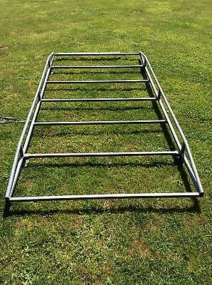 Mercedes Galvanised Roof Rack with rear roller