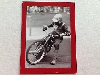 Action Photo Of Speedway Rider Of The Fifties / Sixties