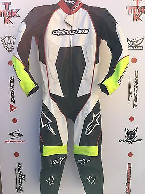 Alpinestars Carver Flo One Piece Race suit with hump uk 40 euro 50