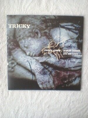"Tricky Featuring Polly Jean Harvey Broken Homes 2 Track Vinyl 7"" Single"