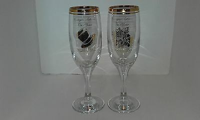 Perfect Wedding Gift - His & Hers Champaign Glasses