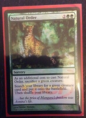 Magic The Gathering MTG - Natural Order DCI Judge Foil Promo