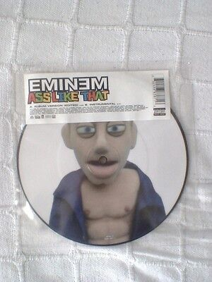 "Eminem Ass Like That 2 Track 7"" Vinyl Picture Disc Single"