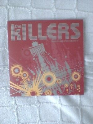 """The Killers Smile Like You Mean It 2 Track Red Vinyl 7"""" Single"""