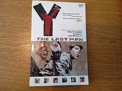Y: the Last Man-Unmanned Graphic Novel