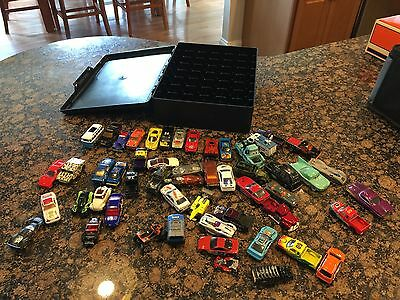 lot of 53 mismatched matchbox cars various years -