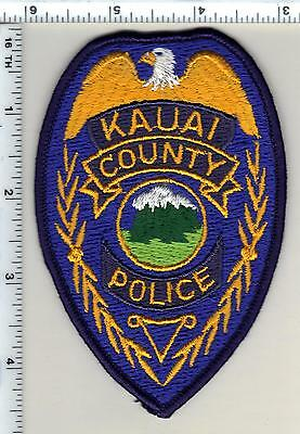 Kauai County Police (Hawaii)  Shoulder Patch - new from the 1980's