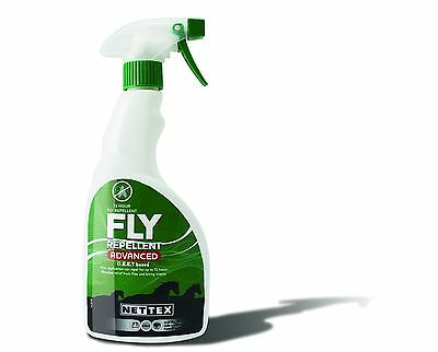 Nettex Fly Repellent Spray Advanced - 250ml, 500ml (up to 72 hours protection)