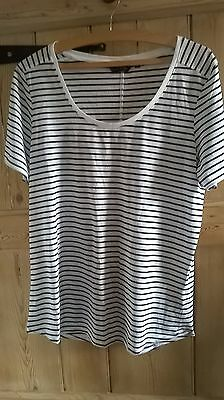 New Look stripey T-shirt size 14