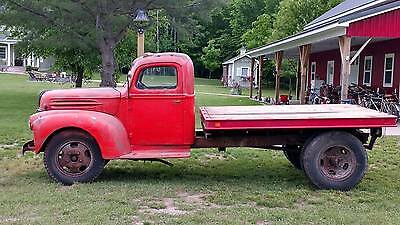 1946 Ford Other Pickups  1946 Ford Flatbed with Flathead V8