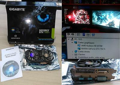 Carte Vidéo GIGABYTE GEFORCE GTX 750Ti, PCI-e, 2Gb + Dongle NETGEAR WIFI N150