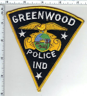 Greenwood Police (Indiana)  Shoulder Patch - new from the 1980s