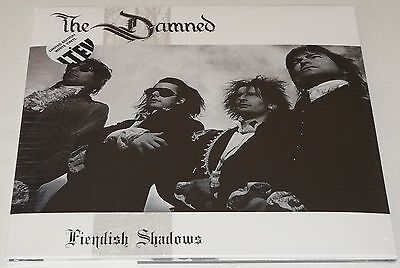 The Damned Fiendish Shadows LP Limited Double WHITE Vinyl LP * NEW *