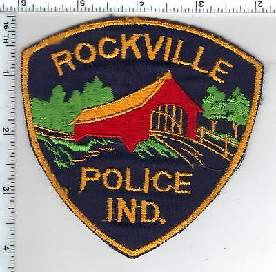 Rockville Police (Indiana)  Shoulder Patch - new from the 1980s