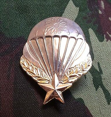 France Indochina Parachute Badge GCMA