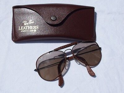 Lunettes de soleil RAY-BAN vintage - Aviator Leathers