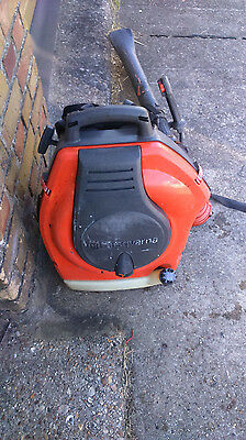 Husqvarna 356BT X Series E-Tech - II Back Pack Petrol Leaf Blower -- Used