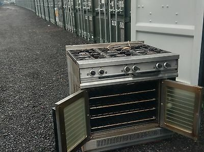 Falcon Commercial 6 gas burner gas cooker