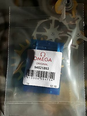LATEST DESIGN OMEGA GENUINE 18mm 94521883 DEPLOYMENT CLASP SATIN STEEL FINISH