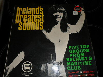 Ireland's Greatest Sounds :five Top Groups From Belfast's Maritime Club Lp