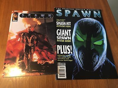 SPAWN The Movie Adaptation - Image Comics + The SPAWN Offical Poster Magazine