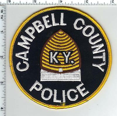 Cambell Police (Kentucky) Shoulder Patch - new from the 1980's