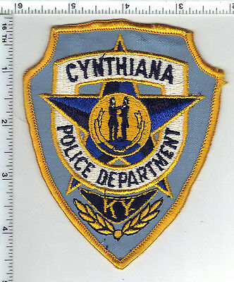 Cynthiana Police (Kentucky) Shoulder Patch - new from the 1980's