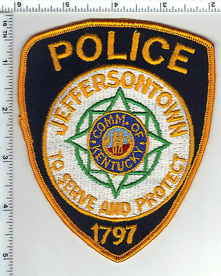 Jeffersontown Police (Kentucky) Shoulder Patch - new from the 1980's