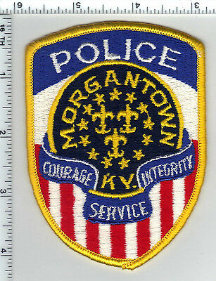 Morgantown Police (Kentucky) Shoulder Patch - new from the 1980's