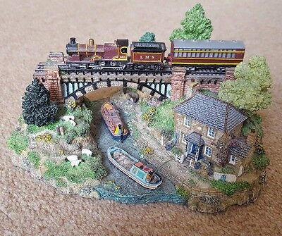 Danbury Mint Country Lines Collection 'The River Crossing' By Jane Hart