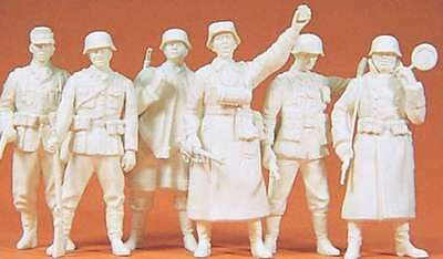 Preiser KG Military Personel Unpainted - The German Reich 1939-45 4041032640037