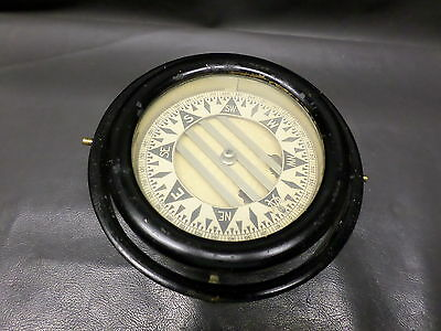 Vintage Maritime Ships Compass Wilcox Crittenden & Co. - Cast Iron - Working
