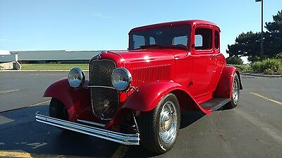 1932 Ford MODEL 18 BASE REAL HENRY ALL STEEL 5 WINDOW COUPE, SUPER NICE BUILD, SHOW AND GO!!!