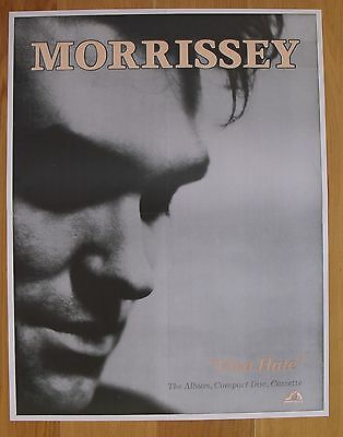 THE SMITHS viva hate vintage poster   morrissey  Repro