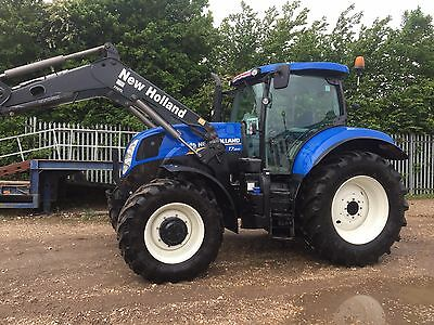 New Holland T7.200 Tractor Loader