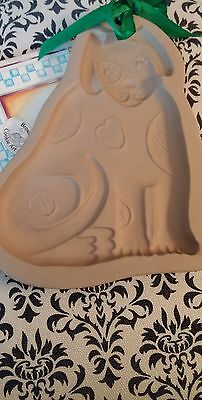 Brown Bag Cookie Art Mold - Spotted Dog - 1988, With Booklet Unused/Excellent