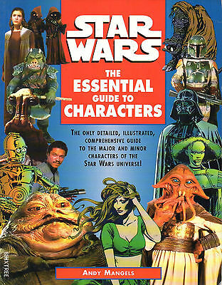 Star Wars-THE ESSENTIAL GUIDE OF CHARACTERS-Sourcebook-Roleplaying Game-RPG-rare