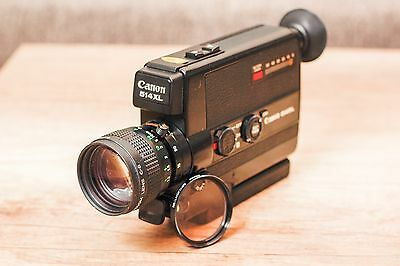 CANON 514XL Super8 movie camera GREAT LOOKING, & working condition + Filter 43mm
