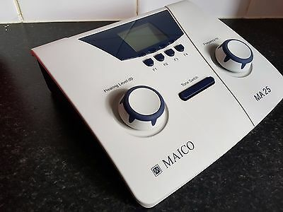 Maico MA25 Audiometer with Calibration certificate to 19 May 2018