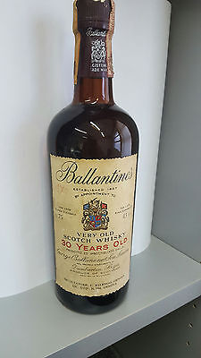 Rare Ballantine's 30 Years Very Old Scotch  Whisky  75cl 43%   1970  - no box