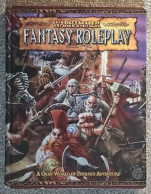 Warhammer Fantasy Role Play RPG 2nd edition - core rulebook