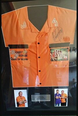 Signed BBC Sports Relief Bobby George Darts Shirt (as seen on TV)