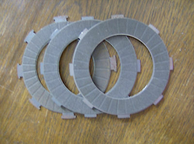 Vespa Carbon Fibre Clutch Plates (3 Plate Old Style Clutch) Pre-Season Sale NEW